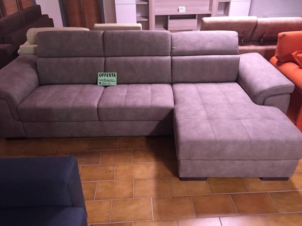 Offerta divano angolare con alza testa regolabile - Offerta divano angolare ...